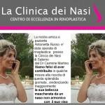RINOPLASTICA PRIMA DEL MATRIMONIO ANTONIETTA RUSSO - DR. C. MARTINO
